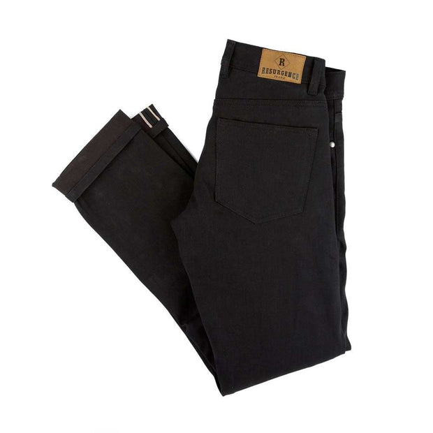 Resurgence Gear - Men's Cafe Racer Jean Skinny Fit (Black)