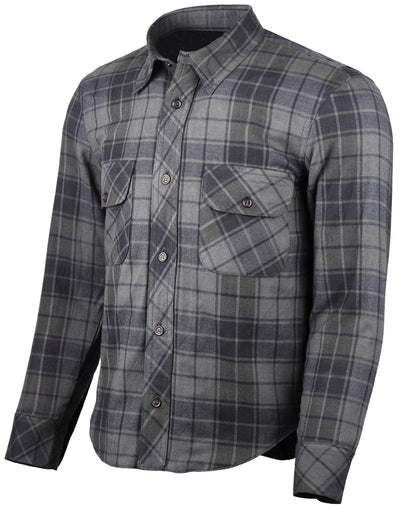 Resurgence Gear Flannel Rider Shirt - Black and Grey