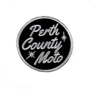 Perth County Moto Circle Patch