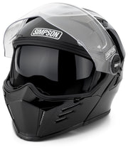 Simpson MOD Helmet - Gloss Black