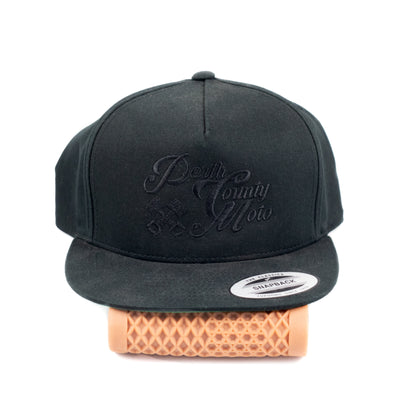 Perth County Moto Piston Snapback - Black