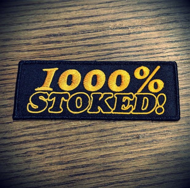 Treadwell - 1000% Stoked Patch