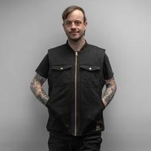 Treadwell Clothing Canvas Vest - Black