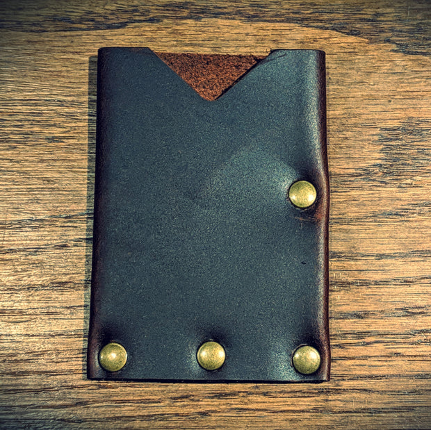 Ugly Muggin Leather & Co - The Dime Bag Card Wallet (Brown)