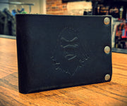 Ugly Muggin Leather & Co. - The Degenerate Bi-Fold Wallet (Black)