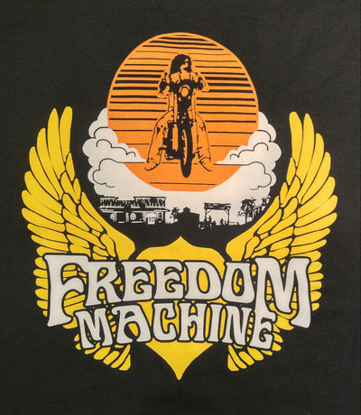 Freedom Machine - Wing Logo Tee