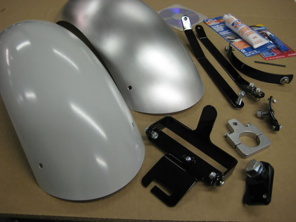 Blue Collar Bobbers - Rear Fender Kit Volusia C50