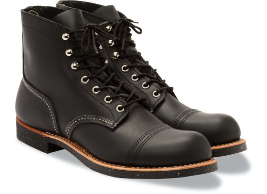 Red Wing Shoes - Men's Iron Ranger Black Harness Leather