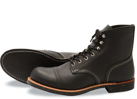Red Wing Men's Iron Ranger - Black Harness Leather