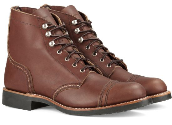Red Wing Shoes - Iron Ranger Amber Harness Leather (Ladies)