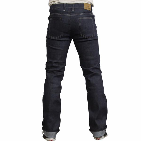 Resurgence Gear - Men's Cafe Racer jeans Slim Fit (Blue)