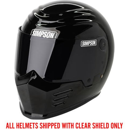 SIMPSON OUTLAW BANDIT GEN 2. - GLOSS BLACK
