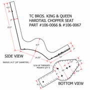 TC Bros - King Queen Seat