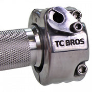 "TC Bros. - 7/8"" Single Cable Motorcycle Throttle - Polished"
