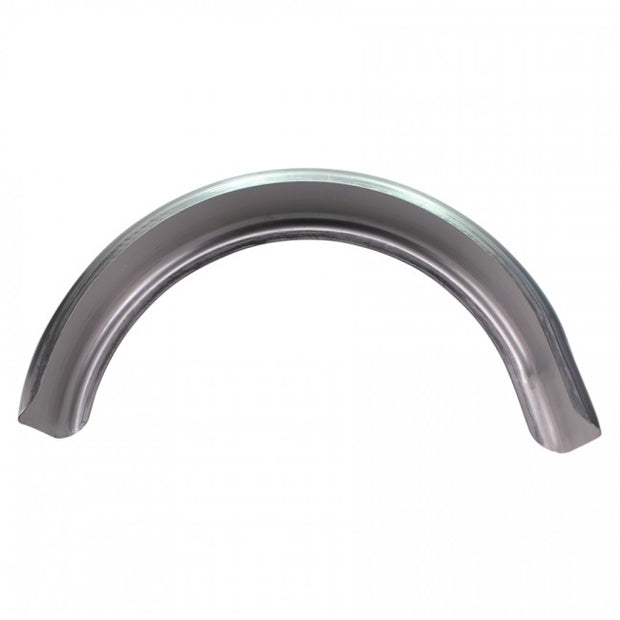 "TC Bros - 5"" Raw Steel Flat Bobber/Chopper Fender"