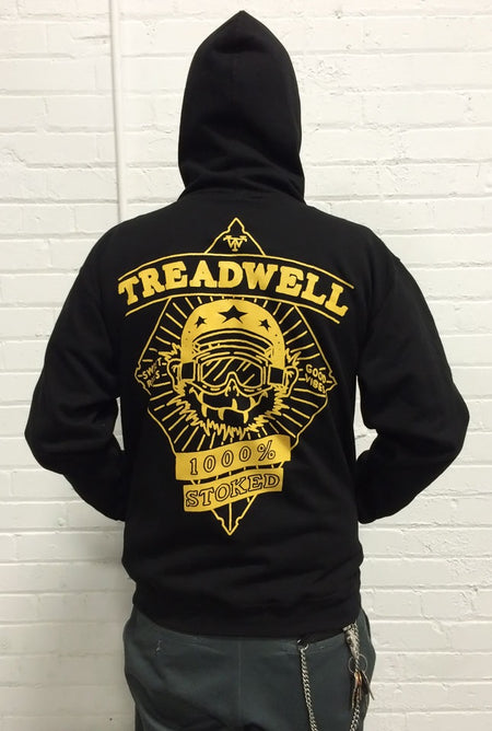 Treadwell Clothing - 1000% Stoked Hoodie