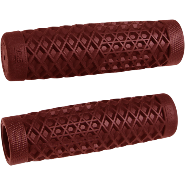 Vans X Cult Motorcycle Grips - Oxblood