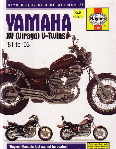 Haynes - Virago Manual