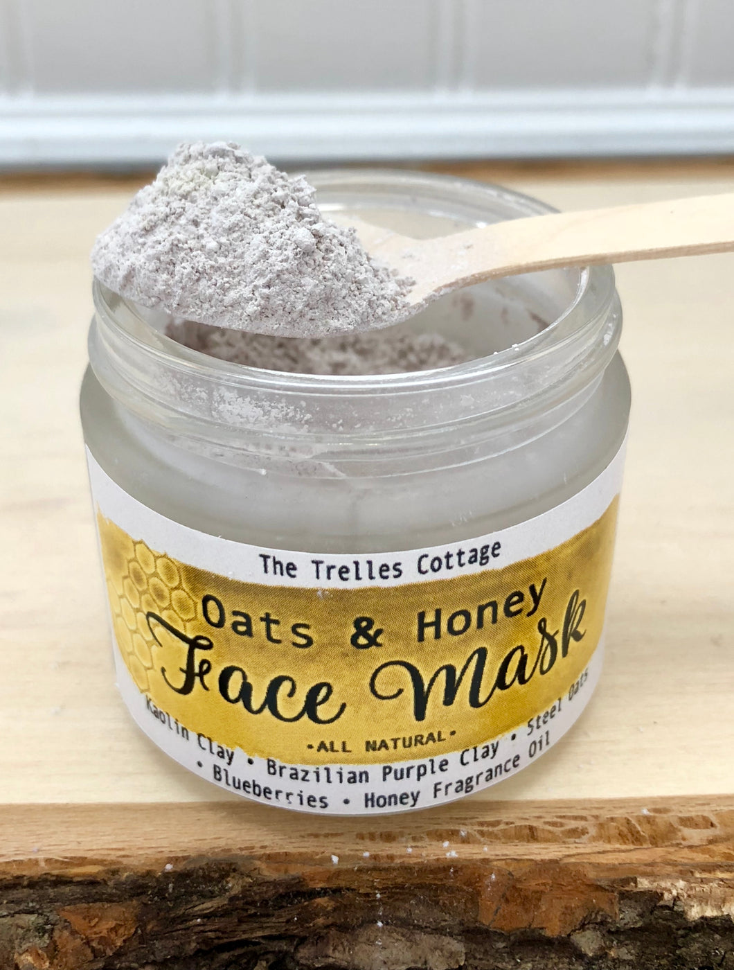 Oats & Honey Face Mask