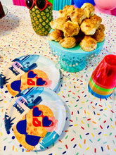 Party Plates - Disposable Plates - Croqueta Party