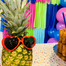 Heart Sunglasses - Croqueta Party