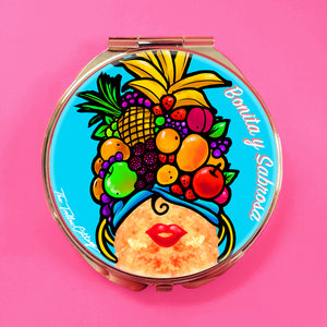 Lucy Croqueta Compact Mirror