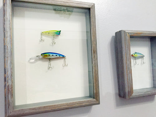 Fishing Lures - Shadow Box Art