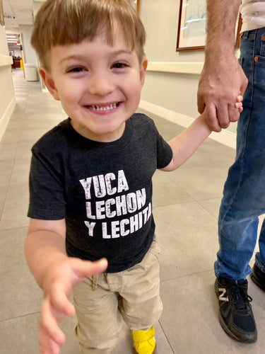 Yuca Lechon y Lechita Toddler T-shirt