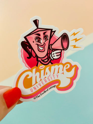 Chisme University Sticker
