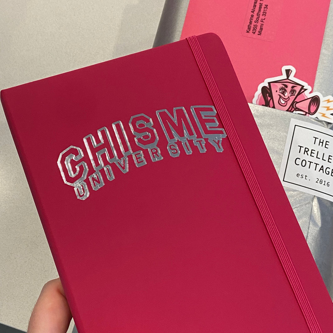 Chisme University Notebook