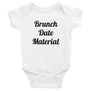 Brunch Date Material Bodysuit