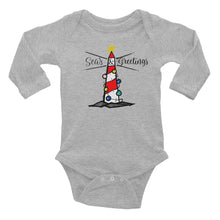 Seas & Greetings Long Sleeve Bodysuit