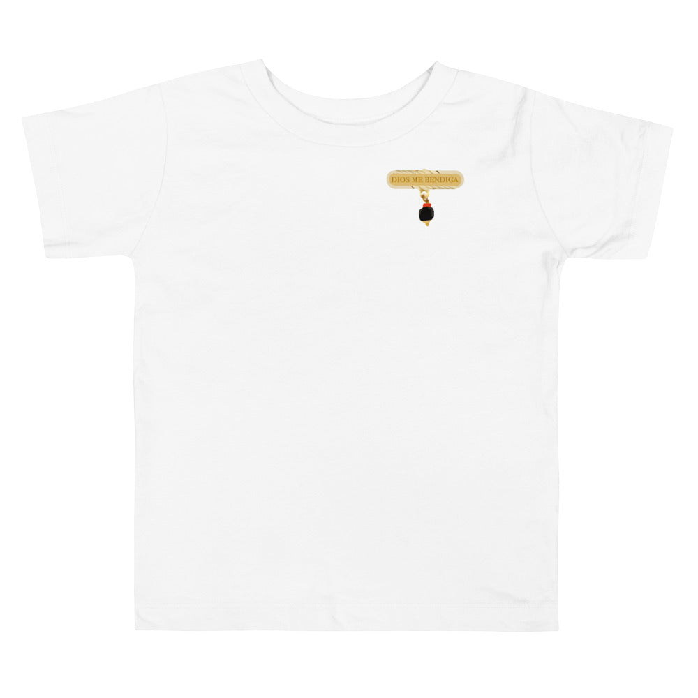 Azabache Toddler T-shirt - Dios Me Bendiga
