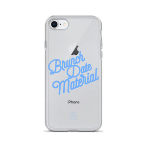 Brunch Date Material iPhone Case