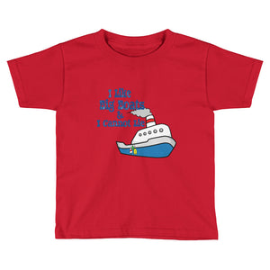 I Like Big Boats Kids T-Shirt
