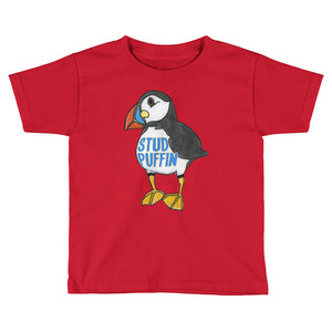 Stud Puffin Kids T-Shirt