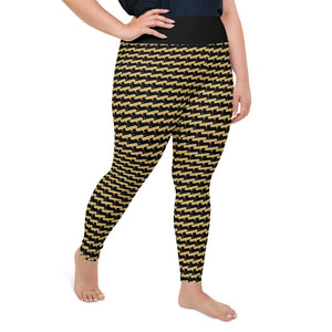 Azabache - Dios Me Bendiga Plus Size Leggings