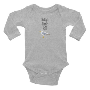 Daddy's Little Gull Long Sleeve Bodysuit