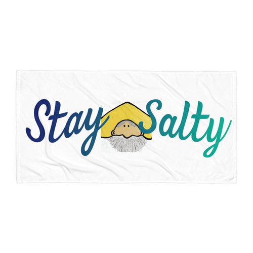 Stay Salty Beach Blanket