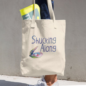Shucking Along Cotton Tote