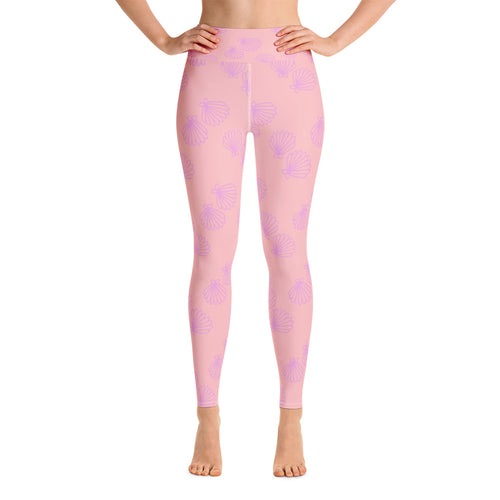 Happy Clam Yoga Leggings