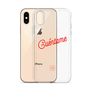 Cuéntame iPhone Case