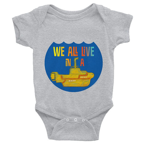 Yellow Submarine Infant Bodysuit