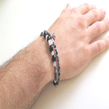 Trendy Chic Bracelets, Healing Gray for Men, Wear to Work Jewelry - Viyoli Jewelry Designs