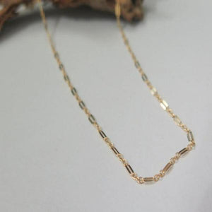 Gold Layering Necklace, Simple Choker, Minimalist Dainty Gift for Her - Viyoli Jewelry Designs
