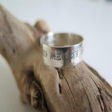 Unixes Wedding Engraved Band, 925 Sterling Silver Personalized Ring - Viyoli Jewelry Designs