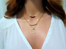 Layering Necklace, Set of 3 Layered Necklace, Delicate Layered Necklace - Viyoli Jewelry Designs