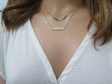Engrave Layering, Layered Personalized Jewelry, Name Bar Necklace - Viyoli Jewelry Designs