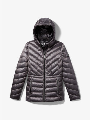 Michael Kors Short Packable Puffer Coat