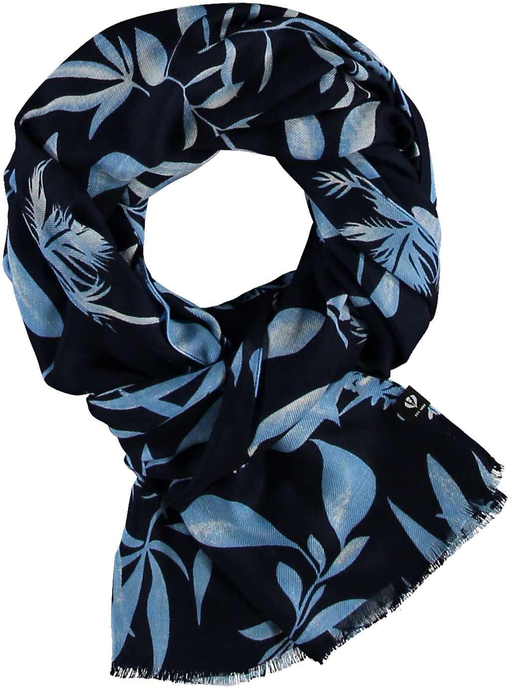 FRAAS TH!NK Leaves Sustainable Viscose Printed Scarf